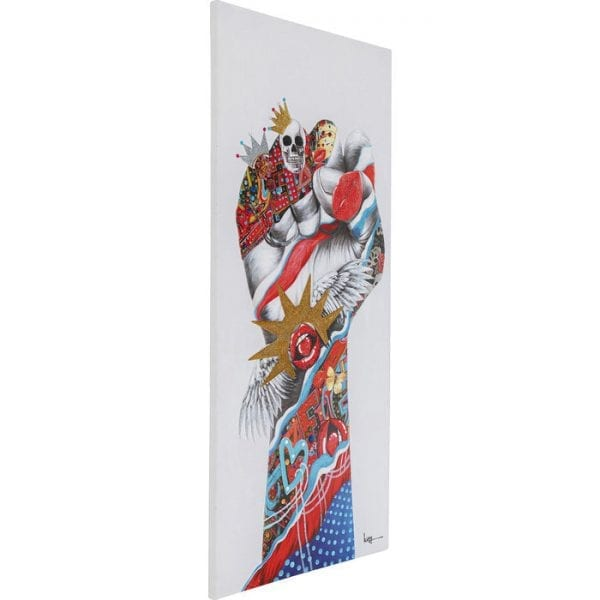 Kare Design Touched Fight For 200x90cm wanddeco 51856 - Lowik Meubelen
