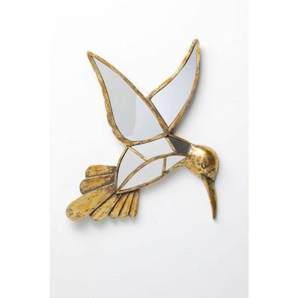 Kare Design Hummingbird Spiegel 60cm wanddecoratie 51948 - Lowik Meubelen