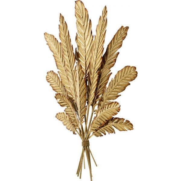 Kare Design Leaf Bouquet Gold wanddecoratie 51846 - Lowik Meubelen