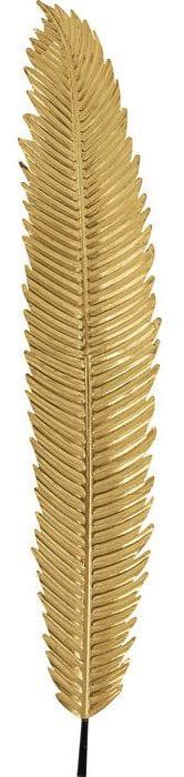 Kare Design Leaf Gold 196cm wanddecoratie 51843 - Lowik Meubelen