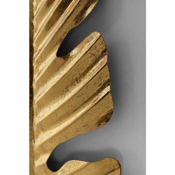 Kare Design Leaf Gold 92cm wanddecoratie 51844 - Lowik Meubelen