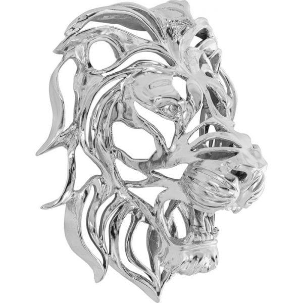 Kare Design Lion Silver wanddecoratie 51914 - Lowik Meubelen