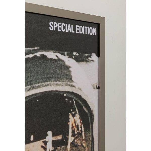 Kare Design Magazin Moon 83x63cm wanddecoratie 51853 - Lowik Meubelen