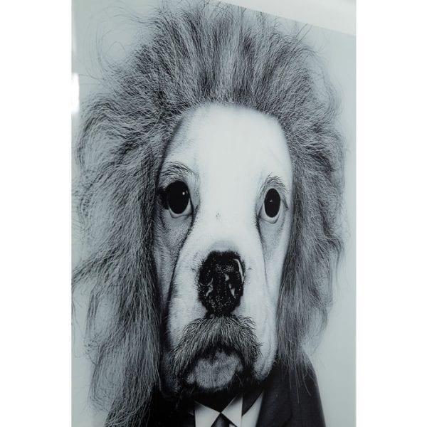 Kare Design Spiegel Smart Dog 60x60cm wanddecoratie 51876 - Lowik Meubelen