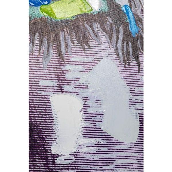 Kare Design Touched Wildlife Buffalo 70x100cm wanddecoratie 51579 - Lowik Meubelen