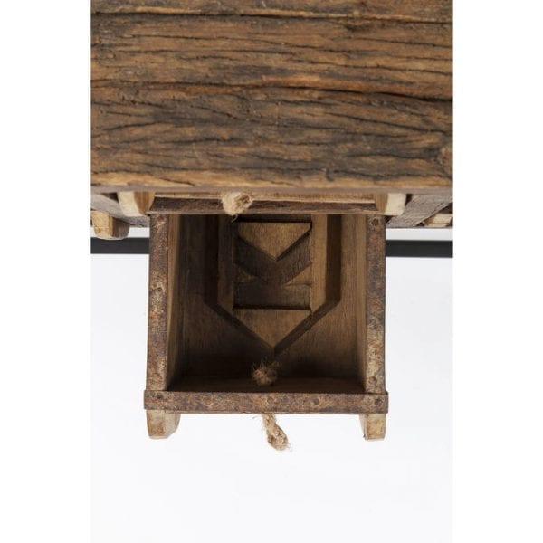 Kare Design Bastidon 125cm wandtafel 83338 - Lowik Meubelen