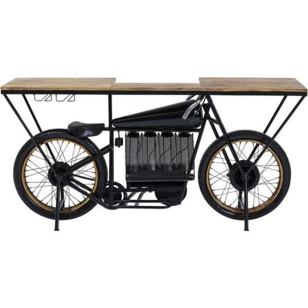 Kare Design Motorbike Black wandtafel 84538 - Lowik Meubelen