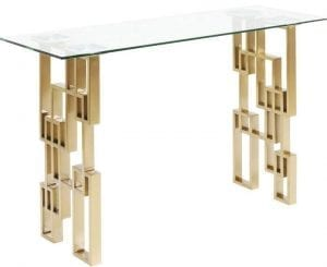 tafel Console Tafel  Boulevard 140x70cm Kare Design tafels - 83908 - Lowik Meubelen
