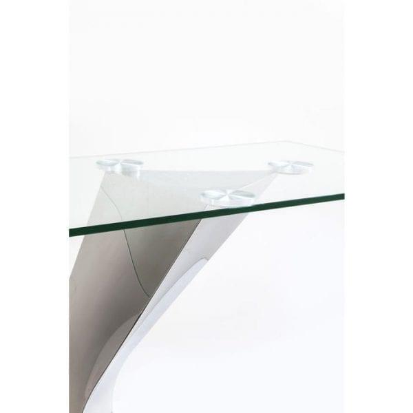Kare Design Tafel Gloria Chrome wandtafel 82380 - Lowik Meubelen