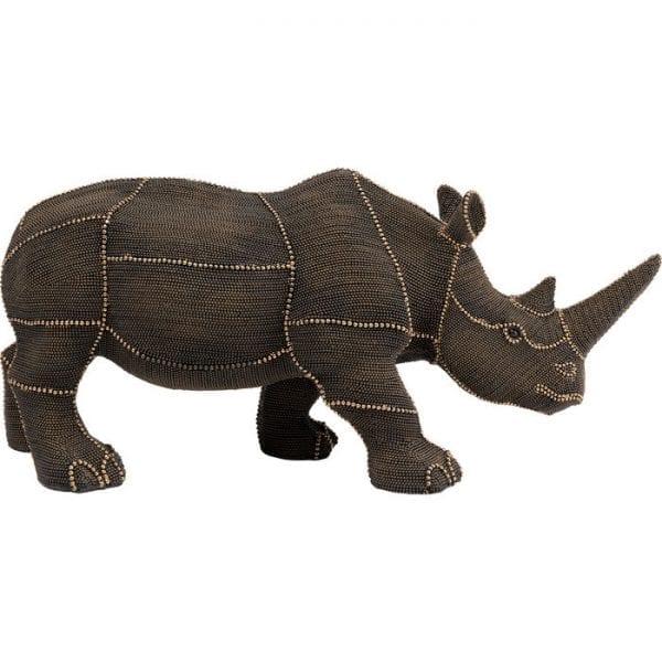 Kare Design Object Rhino Rivets Pearls deco 51921 - Lowik Meubelen