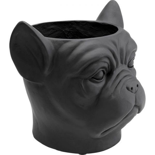 Kare Design Planter Bulldog Black deco 51898 - Lowik Meubelen