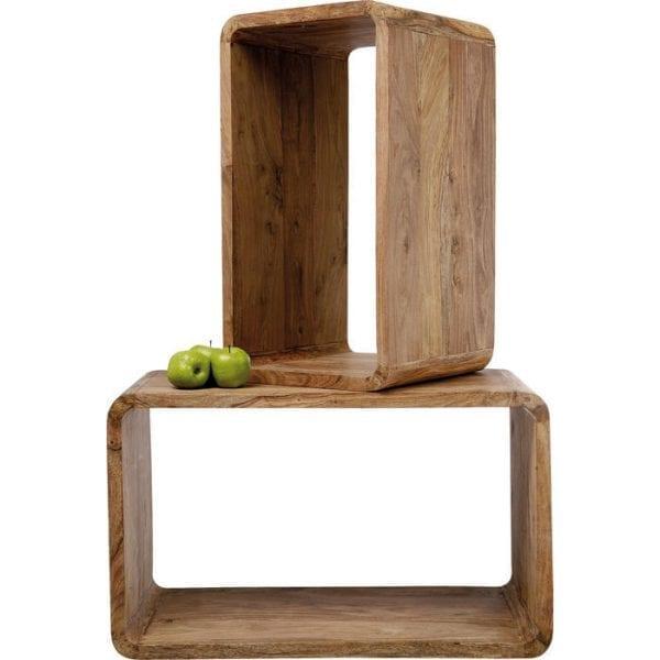 Kare Design Cube Rectangular (2/Set) authentico 75060 - Lowik Meubelen