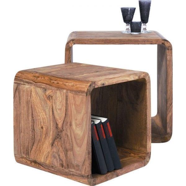 Kare Design Cube Square (2/Set) authentico 75051 - Lowik Meubelen