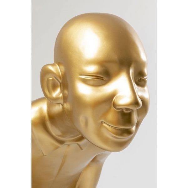 Kare Design Welcome Guests Gold Big beeld 51719 - Lowik Meubelen