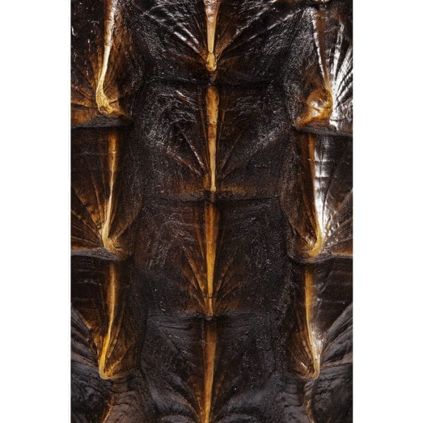 Deco Object Turtle 53cm 61616 onderstel: staal gepoedercoat, object: polyresin, levering afgebroken Kare Design