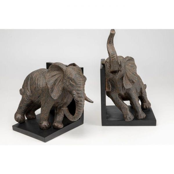 Kare Design Elephants 25cm (2/Set) boekensteun 51941 - Lowik Meubelen