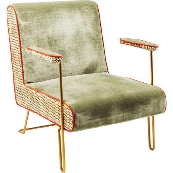 fauteuil Cocktail Fauteuil Aunt Betty Kare Design fauteuils - 81776 - Lowik Meubelen
