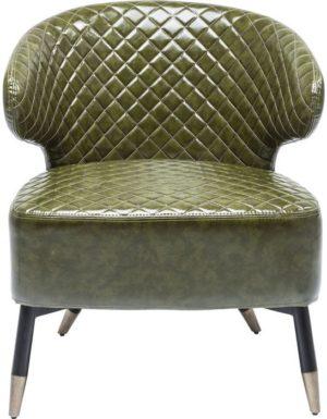 fauteuil Cocktail Fauteuil Session Green Kare Design fauteuils - 80818 - Lowik Meubelen