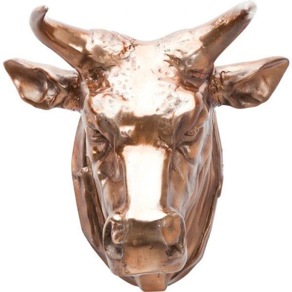 Deco Head Buffalo Copper 36159 aluminium verkoperd Kare Design