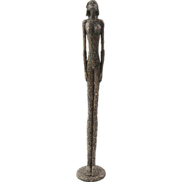 Deco Object Art Lady 78cm 66034 Voorwerp: Polyresin, met de hand gemaakt Kare Design