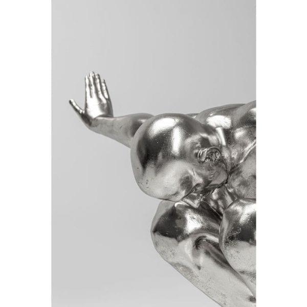 Kare Design Athlete XL Silver object 51523 - Lowik Meubelen