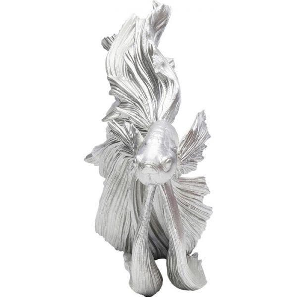 Kare Design Betta Fish Silver Small object 68024 - Lowik Meubelen
