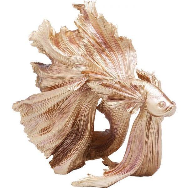 Deco Object Betta Fish Gold 61913 object: polyresin Kare Design