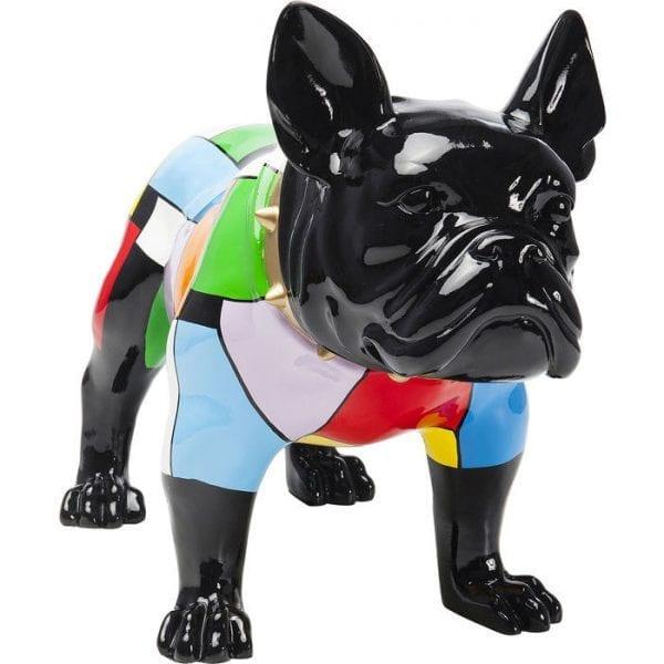 Deco Object  Bulldog Colore 61861 glasvezel Kare Design