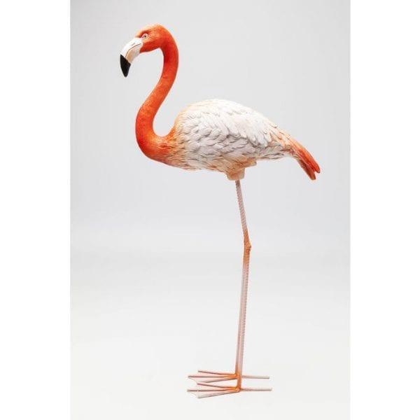 Deco Object Flamingo Road 75cm 63946 Onderstel: staal gelakt, Object: Polyresin, Handgemaakt Kare Design