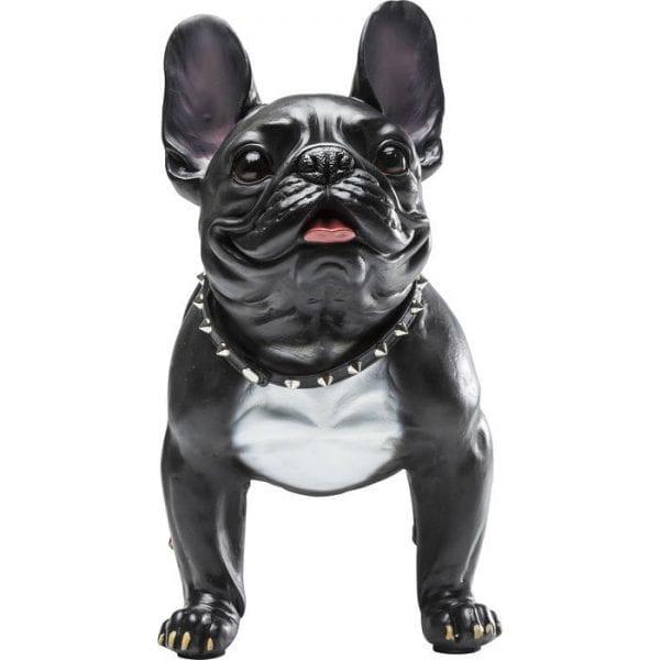 Deco Object Gangster Dog 38091 Decoratief figuur: liefde voor dieren. De echt uitziende mopshond is de ideale decoratie voor alle hondenliefhebbers. Of het nu in de entree of in de woonkamer is: dit dier is een echte blikvanger! Andere pug-producten beschikbaar. Kare Design