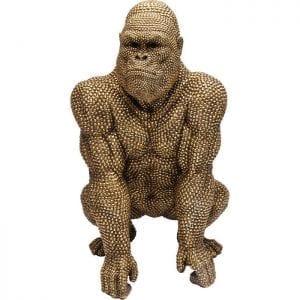 Deco Object Gorilla Gold 80cm 61560 object: polyresin Kare Design