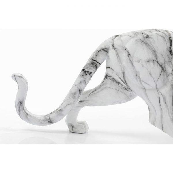 Kare Design Leopard Marble 95cm object 51588 - Lowik Meubelen