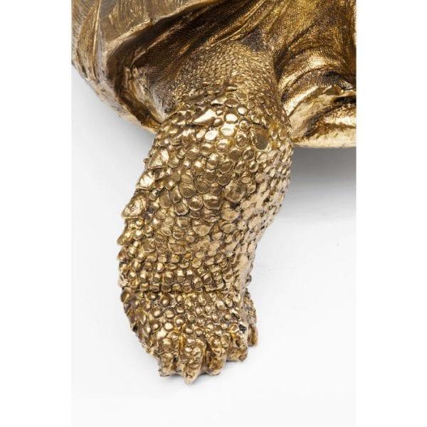 Deco Object Turtle Gold Medium 61959 polyresin Kare Design