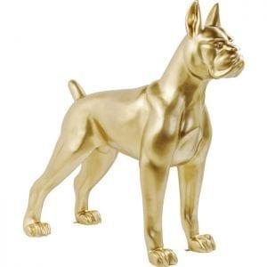 Deco Object Toto XL Gold 60264 Grootte doet er toe. De XXL-decoratieve figuur Toto maakt indruk met zijn imposante afmetingen en vertegenwoordigt een echt statement voor elk huis. Materiaal: gelakt glasvezel. Geschikt voor buiten, maar niet vorstbestendig. Andere versies beschikbaar. Kare Design