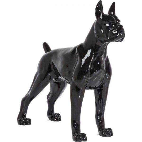 Deco Object Toto XL Black 38403 Grootte doet er toe. De XXL decoratieve figuur Toto maakt indruk met zijn imposante formaat en is een echte statement voor elk huis. Materiaal: gelakt glasvezel. Geschikt voor buiten, maar niet vorstbestendig. Ook verkrijgbaar in zilver. Kare Design