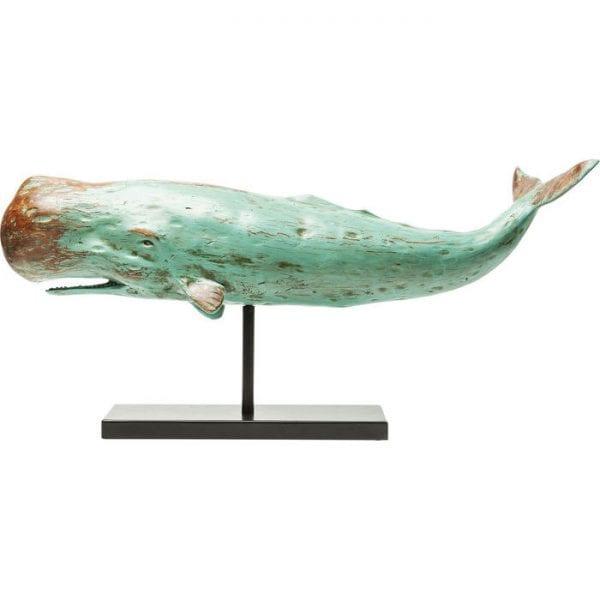Deco Object Whale Base 30349 : staal gelakt,: polyresin, levering afgebroken Kare Design