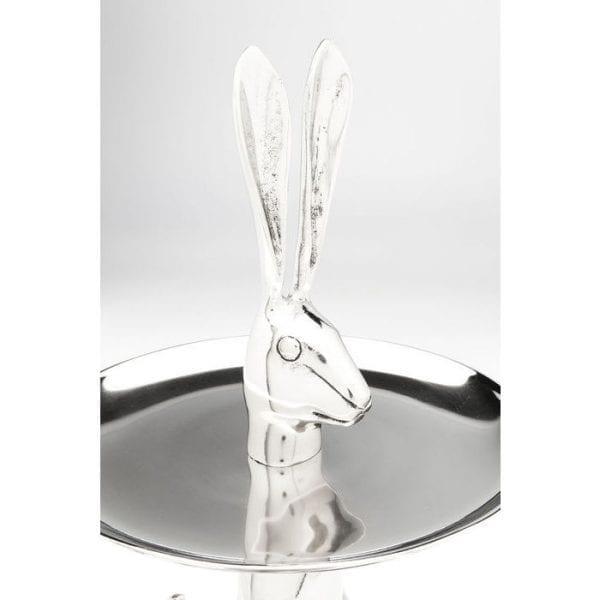 Etagere Bunny 61349 Het is bekend dat konijnen heel schattig zijn. Het is minder bekend dat ze kunnen gaan zitten en cupcakes serveren, zoals deze charmante en verleidelijke Bunny-taartstand toont. Kare Design