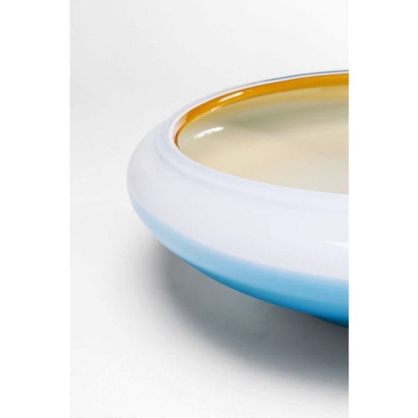 Schaal Sunday Brown 61725 glas gekleurd, handgeblazen Kare Design