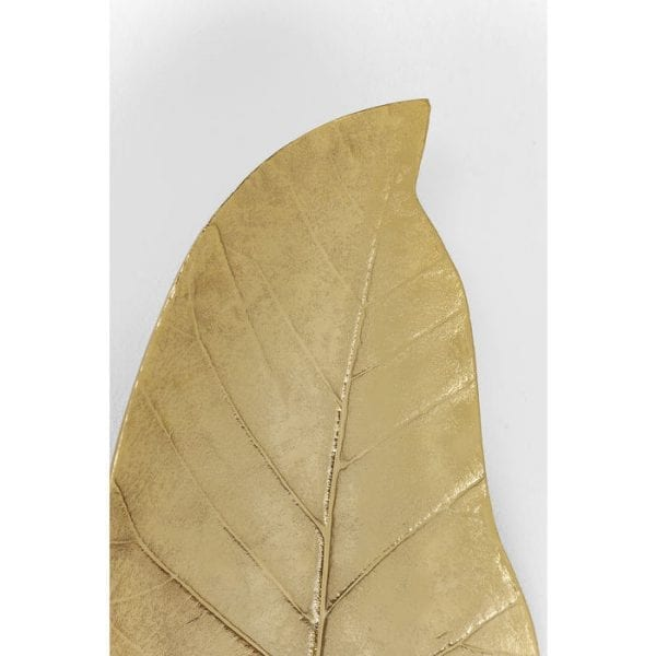 Lantaarn Leaf Gold 39896 56 x 25 x 17 centimeter (H / W / D) Kare Design