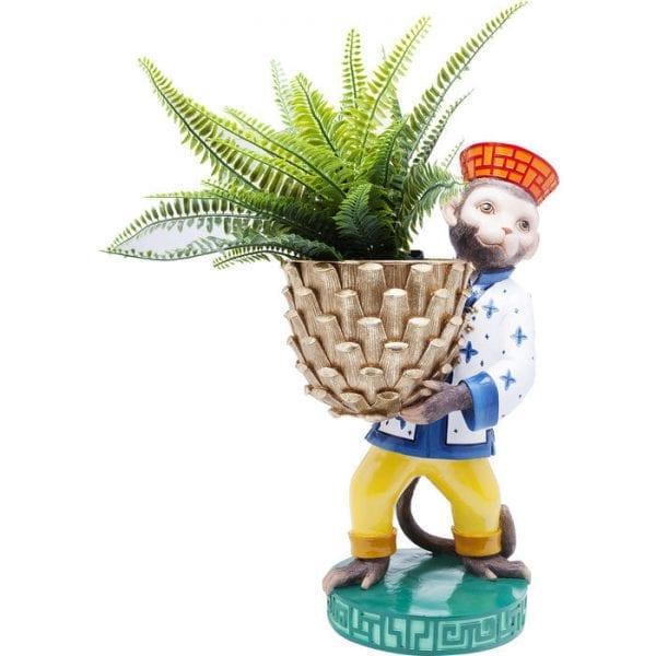 Planter Monkey 61914 object: polyresin Kare Design