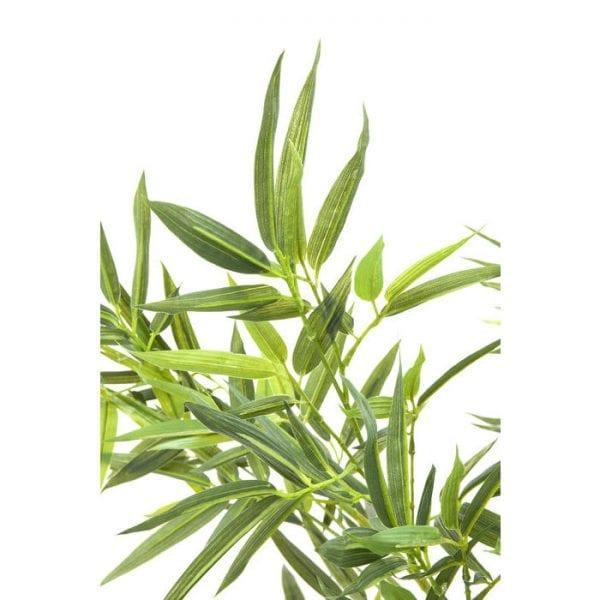 Deco Plant Bamboeboom 200cm 64002 Voorwerp: Ethyleen-vinylacetaat, Basis: Polyethyleen, Voorwerp: staal blank, Basis: natuursteen Cement, levering Gedeeltelijk gedemonteerd Kare Design