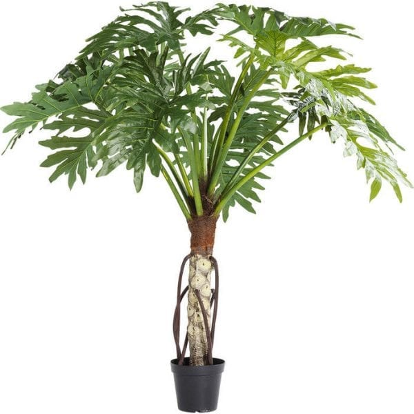 Deco Plant Big Monstera 175cm 61202 Een meevaller in het groen! Ze hebben geen water, geen licht en geen andere verzorging nodig - toch hebben kunstmatige planten zoals de monstera hier bijna hetzelfde effect als hun levende modellen. Ze zetten nieuwe accenten, stralen sereniteit uit en ronden elk interieur af. Kare Design