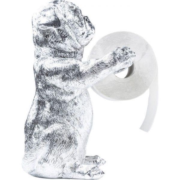 Toilet Paper Holder Mops Chrome 38562 polyresin Kare Design