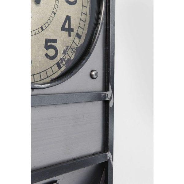 Kare Design Clock Thinktank Kontor 124cm wall 80690 - Lowik Meubelen