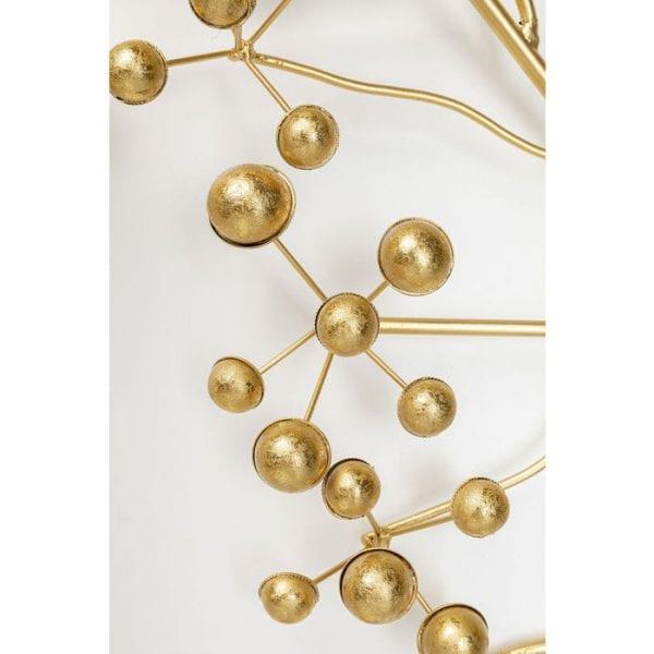 Kare Design Kledingkast Beetle On Tree Gold wall 84800 - Lowik Meubelen