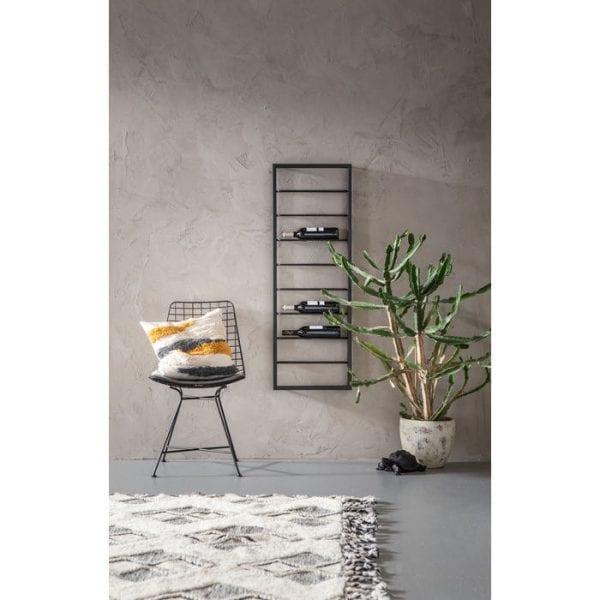 Kare Design Wandplank voor wijn Bistro 120cm wall 84278 - Lowik Meubelen