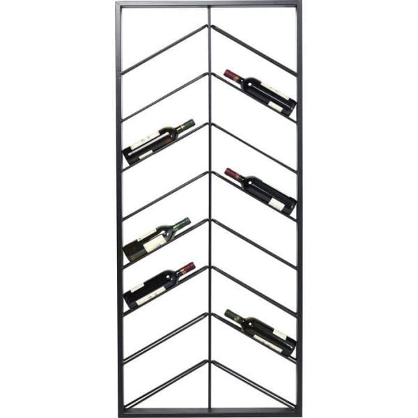 Kare Design Wandplank voor wijn Bistro Double 160cm wall 84281 - Lowik Meubelen