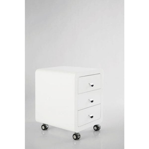 Kare Design Club Storage Container 3 Drawers white 75020 - Lowik Meubelen