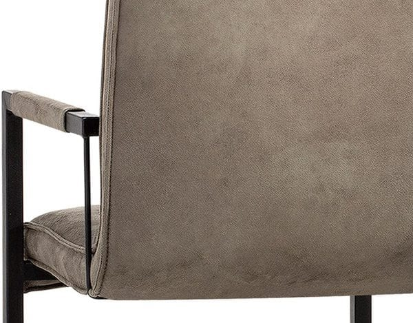 Cielo armstoel in Softyl olive, Maxfurn stoelen collectie