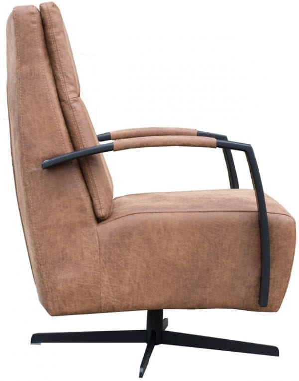 Kane draaifauteuil, schitterend design uit de Löwik Meubelen fauteuil collectie